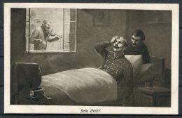 Germany 'Sein Lied' Violin Patriotic Postcard - Patriotic