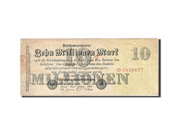 Allemagne, 10 Millionen Mark, 1923, KM:96, 1923-07-25, TB - [ 3] 1918-1933 : Weimar Republic