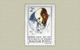 Hungary 1982. Robert Koch Stamp MNH (**) Michel: 3536 / 0.50 EUR - Ungarn