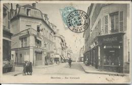 CP - 78 - Mantes Rue Nationale 1904 - Mantes La Jolie