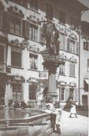 SCHAFFHAUSEN  → Tellbrunnen Mit Kindern, Schöne Fotokarte Ca.1935 - SH Schaffhouse