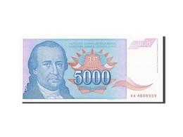 Yougoslavie, 5000 Dinara, 1994, KM:141a, 1994, SPL - Yugoslavia