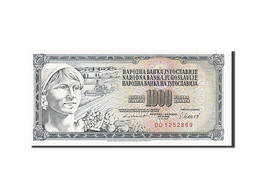 Yougoslavie, 1000 Dinara, 1978, KM:92d, 1981-11-04, SPL - Yugoslavia