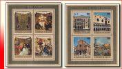 Burundi BL 0053/54**  Tresors De Venise Surcharge +2Fr  MNH - 1970-79: Nuovi
