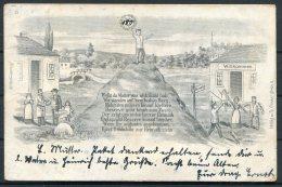 1905 Germany Luneburg Musterschultz Th Frenkel Patriotic Postcard - Patriotic