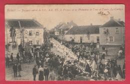 Beloeil - Joyeuse Entrée Du Prince Et Princesse De Tour Et Taxis - Le Cortège - 1906 ( Voir Verso ) - Beloeil