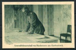 Germany Wohlfahrts Postkarte 'Generalfeldmarschall Von Mackensen Am Kartentisch' - Characters