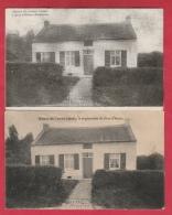 Bois D'Haine  - La Maison De Louise Lateau ... La Stigmatisée - 2 Cartes Postales ( Voir Verso ) - Manage