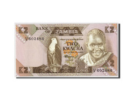 Zambie, 2 Kwacha, Undated (1980-88), KM:24c, NEUF - Zambie