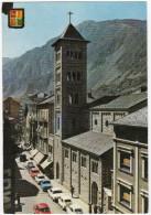 Les Escaldes: SEAT 600, FORD TAUNUS 17M P3, STANDARD EIGHT, RENAULT DAUPHINE, PEUGEOT 404 BREAK  - Vall D´Andorra - Turismo