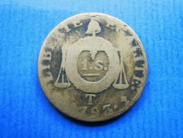 FRANKREICH 1 Sol Aux Balances 1793 T Nantes - 1789-1795 Franz. Revolution