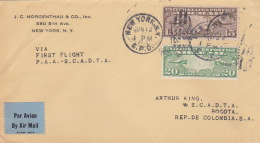 United States 1931 First Flight Cover New York-Bogota - Vereinigte Staaten