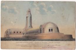 France, OSSUAIRE De DOUAUMONT, Arriere Du Monument, Chapelle Cahtolique, Used Postcard [18441] - Douaumont