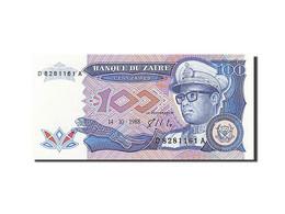 Zaïre, 100 Zaïres, 1988-1992, KM:33a, 1988-10-14, SPL - Zaïre
