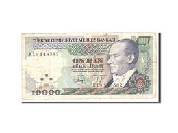 Turquie, 10,000 Lira, 1970, KM:199, 1982, TTB - Turquie