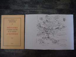 HISTOIRE ET CURIOSITES NATURELLES DE LA COMMUNE D OPPEDE LOUIS DE BOMPUIS - Provence - Alpes-du-Sud