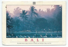 Indonesia Via Netherlands.postcard Original Scans.nice Stamps - Indonésie