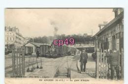 Bf - 49 - Fixe -  ANGERS - La Gare D'Anjou - édit. Ducardon - - Angers