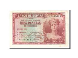 Espagne, 10 Pesetas, 1935, KM:86a, Undated, TTB - [ 2] 1931-1936 : République