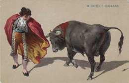SUERTE DE GALLEAR (Spanische Künstlerkarte) - Stierkampf, Um 1910 - Stierkampf