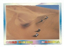 Namibia Via Netherlands.postcard Original Scans.nice Stamps ( Lion ) - Namibia (1990- ...)