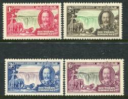 Southern Rhodesia 1935 KGV Silver Jubilee Set HM (SG 31-34) - Southern Rhodesia (...-1964)