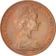 Australie, Elizabeth II, 2 Cents, 1981, Bronze, KM:63 - Monnaie Décimale (1966-...)