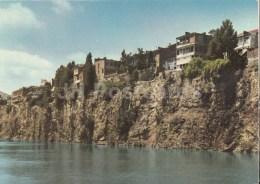 Old Houses Overlooking The Mtkvari River - Tbilisi - Georgia USSR - Unused - Géorgie
