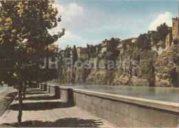 Old Houses Overlooking The Mtkvari River - Tbilisi - Georgia USSR - Used - Géorgie