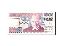 Turquie, 1,000,000 Lira, 1970, KM:213, Undated, SUP+ - Turchia
