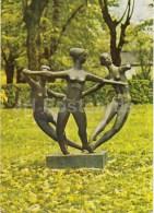 In The Greenery - Sculpture - Riga - Latvia USSR - Unused - Lettonie