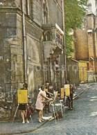 Bibliotekas Street In Old Riga - Old Town - Painters - Riga - Latvia USSR - Unused - Lettonie