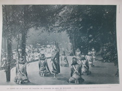 1906  DANSE CAMBODGIENNE  Sisowath  Théatre De Verdure CAMBODGE   + CHUTE D EAU DE IGUAZU Cataratas Do Iguaçu Argentine - Vieux Papiers