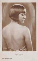 SEXY / PIN-UP : CINÉMA ANCIEN : MARIA CORDA - CARTE VRAIE PHOTO ~ 1920 -´30 - ROSS VERLAG (u-725) - Acteurs