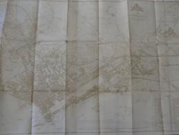 PLAN DE SAINT-NAZAIRE-SUR-LOIRE (44) 1924 - Cartes Géographiques