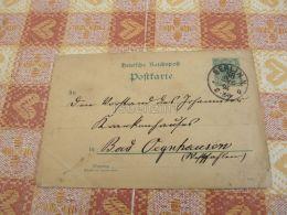 Berlin Bad Oeynhausen Germany Postkaart Postkarte Postcard - Alemania