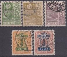 Japon 1929 Nº 202/06 Usado - 1926-89 Emperor Hirohito (Showa Era)