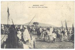 Cpa Maroc - Départ Du Sultan Pour Rabat - Maroc