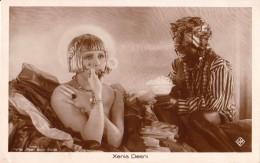 SEXY / PIN-UP : CINÉMA ANCIEN : XENIA DESNI : BULLES DE SAVON / SOAP BUBBLES - CARTE VRAIE PHOTO ~ 1920 - ROSS (u-743) - Schauspieler