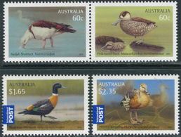 Australia 2012. Michel #3704/07 MNH/Luxe. Waterfowl. (Ts17) - Patos