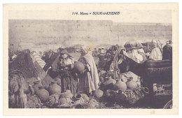 Cpa Maroc - Souk El Khemis ( Poteries ) - Maroc