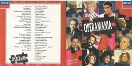 Operamania, 2 CD Decca Fuori Catalogo. - Music & Instruments