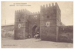 Cpa Maroc - Médhya - Porte D'entrée De La Casbah - Maroc