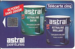 FRANCE - Astral Peintures, Tirage 10000, 10/94, Used - 5 Unidades