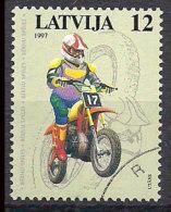 Latvia 1997 Motor Sport - Motor Cycles Mi 460, Cancelled(o) - Lettonia