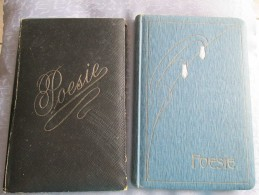 2 RECUEILS DE POESIES ANNEE 1914 - Altri