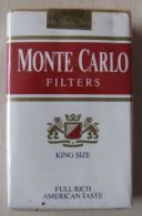 AC - MONTE CARLO AMERICAN BLEND CIGARETTES CIGARETTE TOBACCO UNOPENED BOX FOR COLLECTION - Other