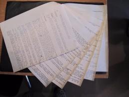 BRASSERIE LAMOT - 1 Descriptif 8 Feuillets 1947 + 1 Descriptif 12 Feuillets 1960 + 1 Coupure Presse. - Other