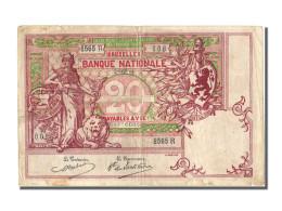 Belgique, 20 Francs Type Minerve Au Lion - [ 1] …-1830 : Antes De La Independencia