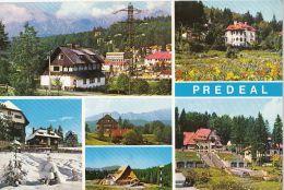 4504FM- PREDEAL- SKI RESORT, HOTELS, CHALETS, PANORAMA - Romania